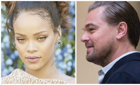 Rihanna y Leonardo DiCaprio