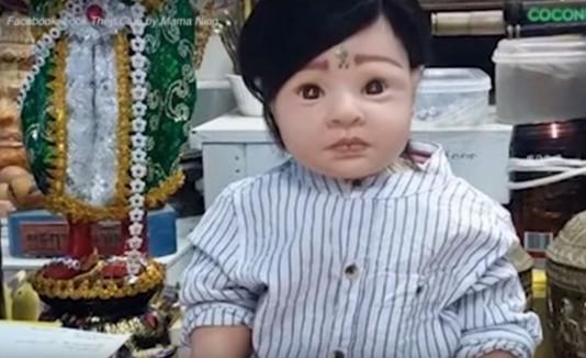 Muñecas vivas de Tailandia