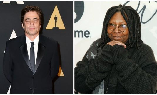 Benicio y Whoppi