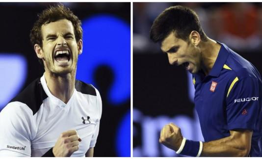 Andy Murray y Djokovic