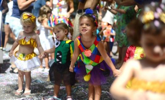 Carnaval pequeños