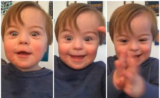 Niño abecedario