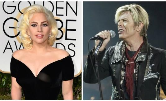 Lady Gaga y David Bowie