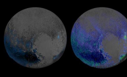 Pluto water