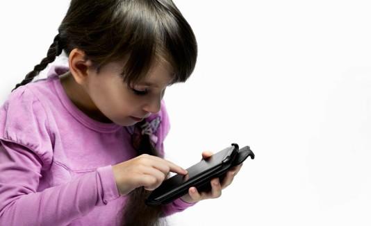 Niños tecnologías