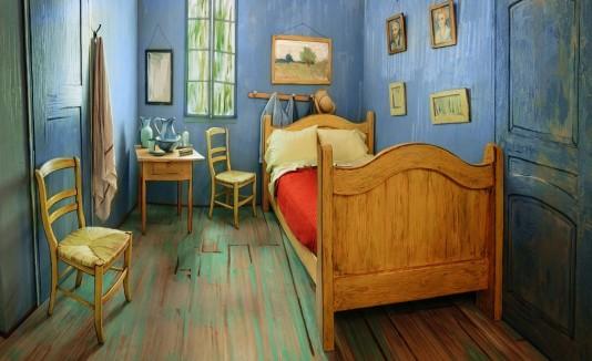 VÍDEO: Alquila el cuarto de Vincent Van Gogh por 10 pesitos