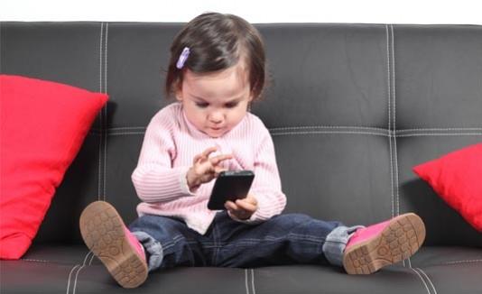 Celulares, smartphone, niños