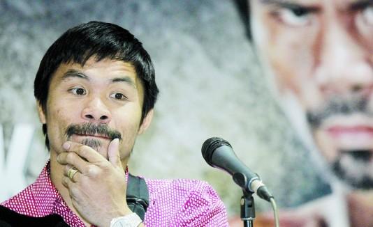 "Manny Pacquiao reafirma su ""no"" al matrimonio gay."