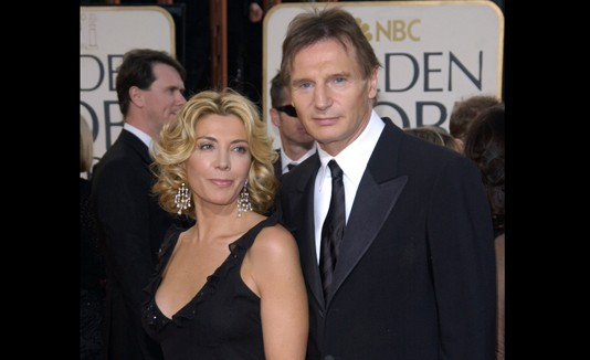Liam Neeson y Natasha Richarson