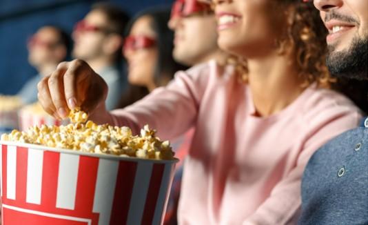 Cine, Popcorn, Película