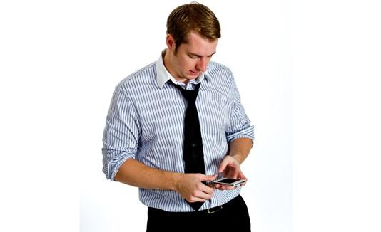 Cuello, Celular, Smartphone, Postura, Texteo, Texting