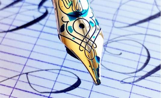 Caligrafía, Escritura, Tinta
