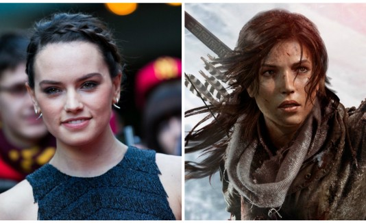 Daisy Ridley, Lara Croft, Tomb Raider