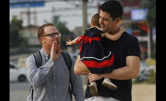 Padres, Gay, Niña, Madre sustituta