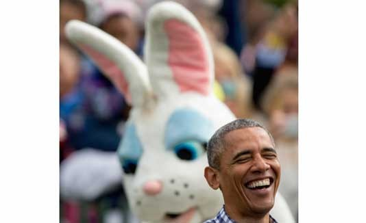 Barack Obama, Pascua, Washington