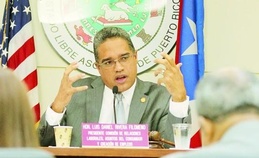El senador Luis Daniel Rivera Filomeno busca extender los derechos a vacaciones y días por enfermedad a los part time.