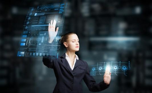 Mujer, tecnología, informática