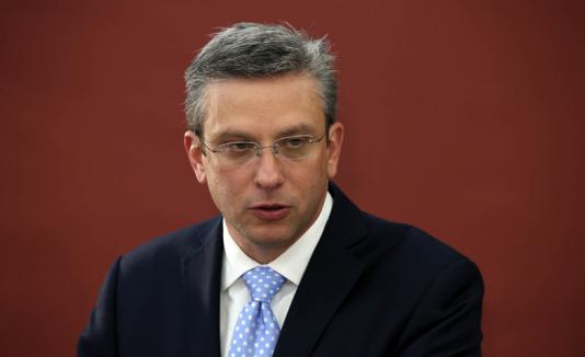 El gobernador Alejandro García Padilla.