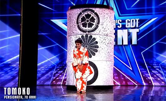 Tomoko, Italia's Got Talent