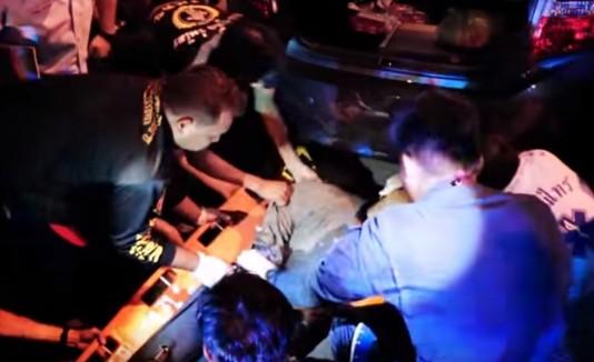 Tailandia, Accidentes