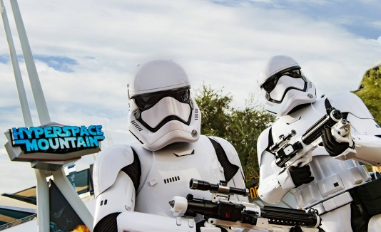 Star Wars en Disneyland