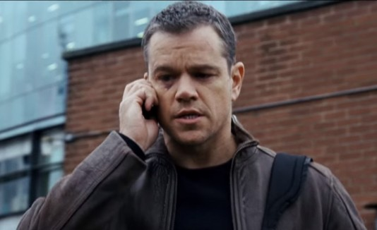 Matt Damon, Jason Bourne, Cine