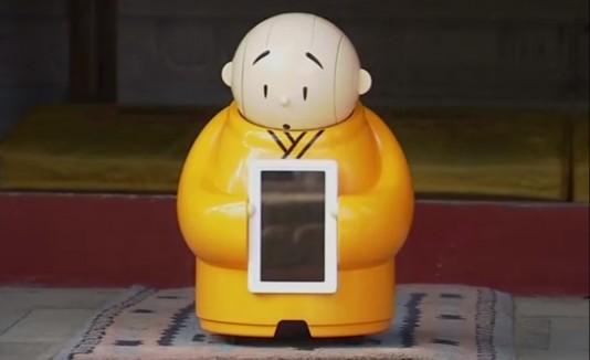 Xian'er, Robot monje, China