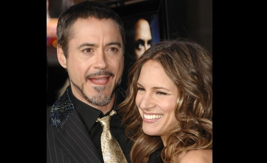 Robert Downey Jr. y Susan Levin