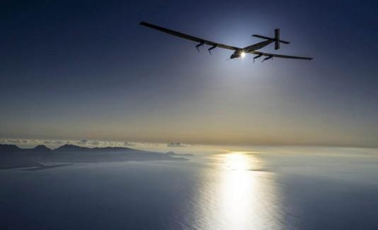 Avión Solar completó nueva etapa