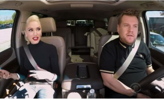 GwenStefani y James Corden