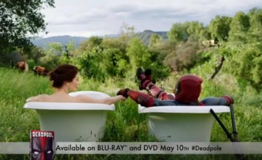 Anuncio de Deadpool en DVD