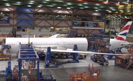 Así se ensambla un moderno Boeing 787