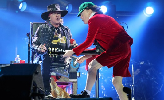 Axl Rose, ACDC