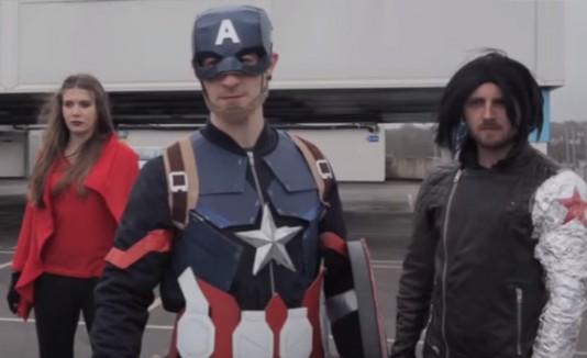 Trailer Civil War low budget