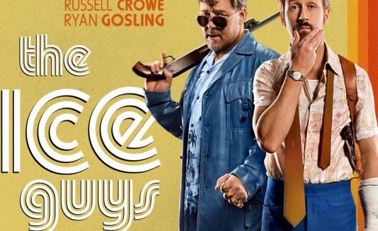 """Crowe y Gosling comparten risas y golpes como detectives en""""The nice guys""""."""