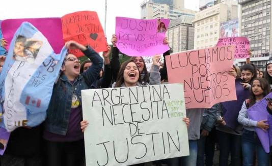 Marcha por Justin Bieber