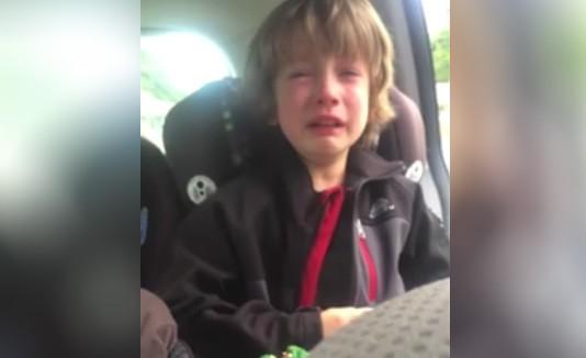 Facebook: el viral del niño que llora por el medio ambiente