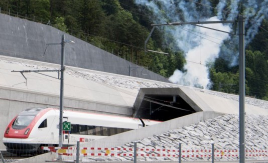Tunel Suiza