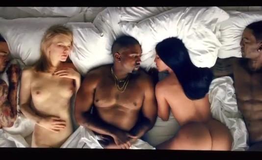 Video desnudos Kanye