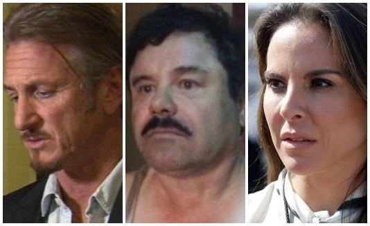 Sean Penn, Chapo, Kate