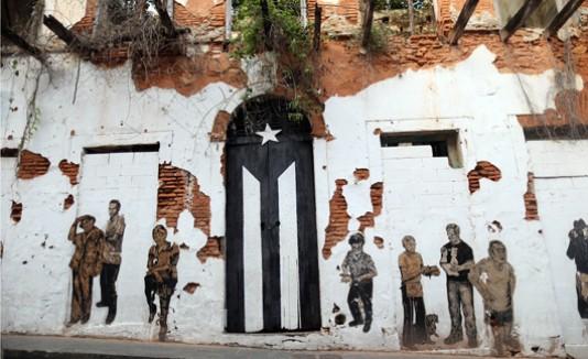 La puerta, San José, Bandera, Puerto Rico