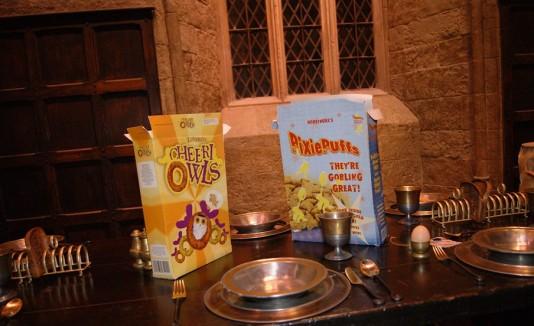 Desayuno como Harry Potter