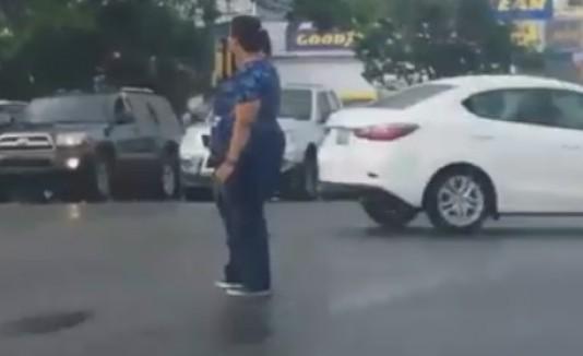 Enfermera tránsito