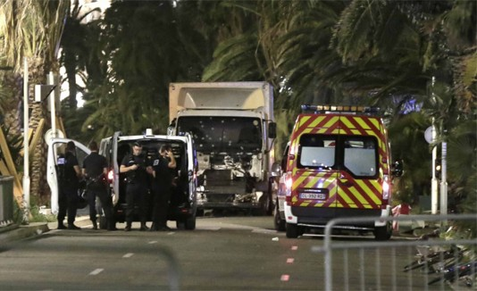 Francia, Ataque, Camión, Niza