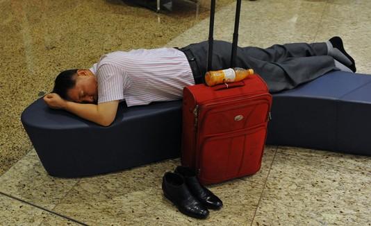 Jet lag, sueño, viajar