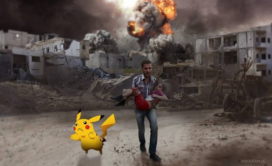 Pokémon Go en Siria