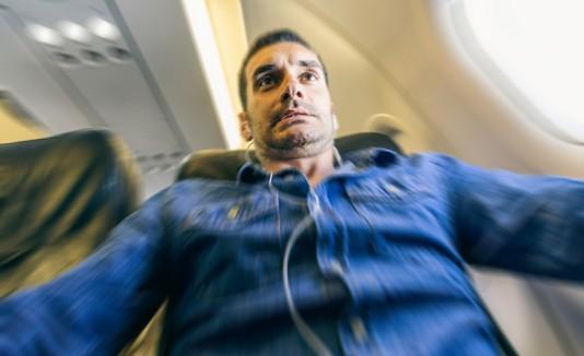 Pasajero de avión
