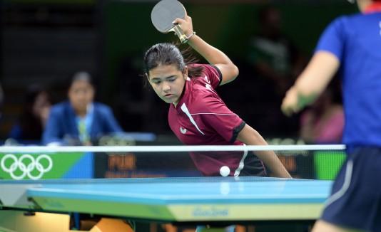 Adriana Diaz en las olimpiadas