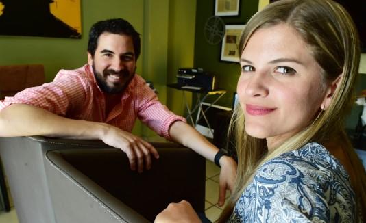 El cineasta Javier Colón dirigió el filme que escribió junto con su esposa, Susana Matos Allongo.