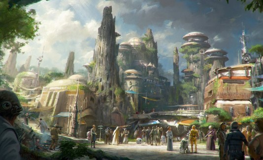 Star Wars Land, California